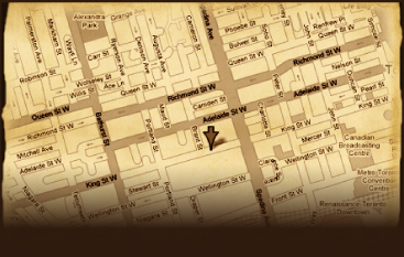 Map to Fynn's of Temple Bar